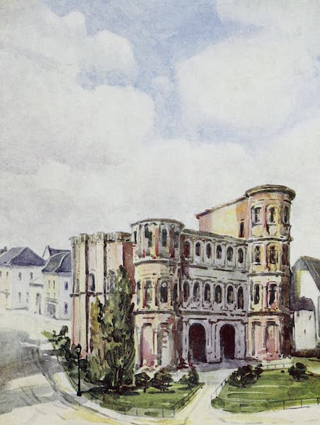 The Rhine - Trier: The Porta Nigra (1908)
