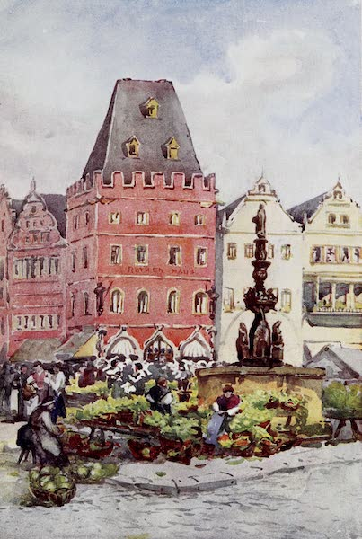 The Rhine - The Red House, Trier (Treves) (1908)