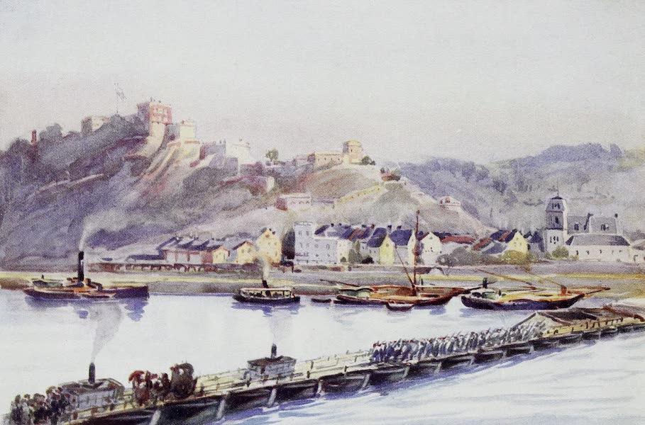 The Rhine - Ehrenbreitstein : The Bridge of Boats (1908)