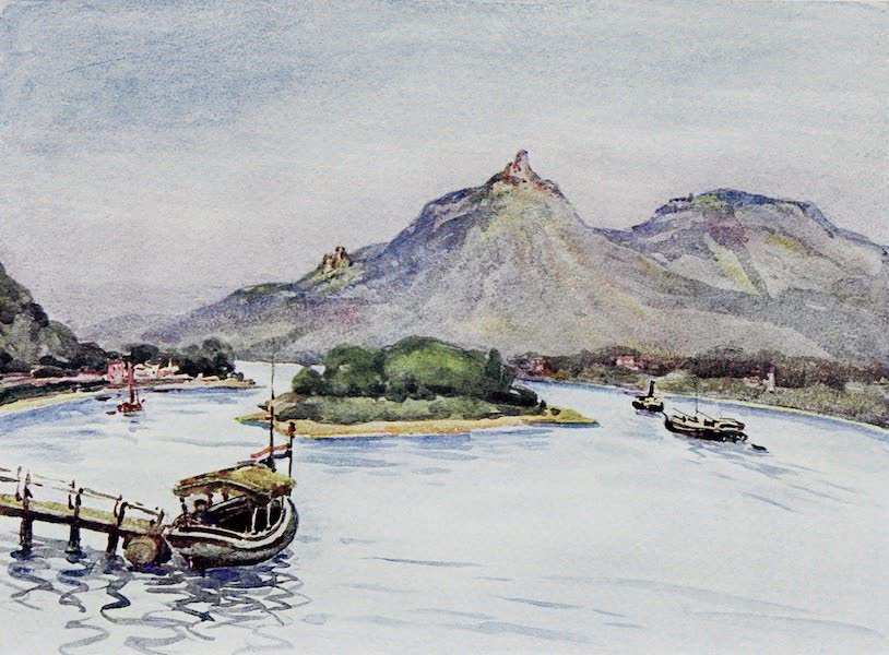 The Rhine - The Drachenfels and Nonenwerth from Rolandseck (1908)
