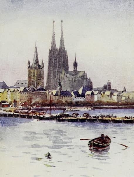 The Rhine - Leaving Koln (1908)