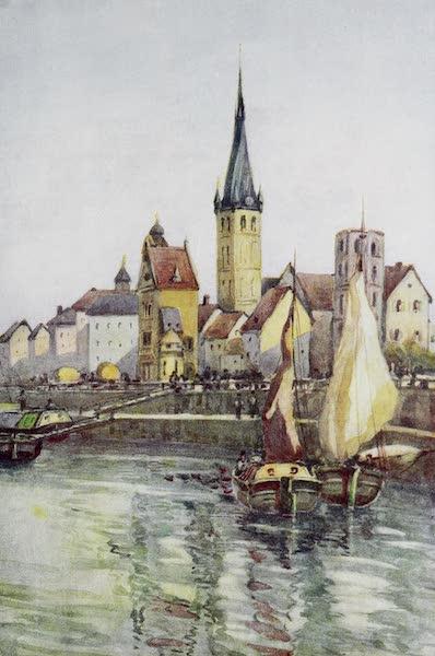 The Rhine - The Quay at Dusseldorf (1908)