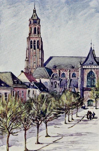 The Rhine - The Groote Kerk (Arnheim) (1908)
