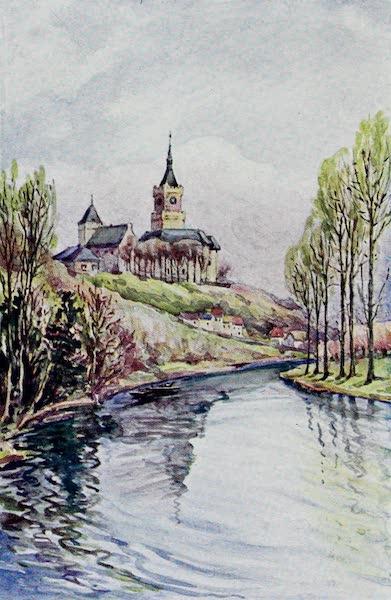 The Rhine - The Schwanen Turm (Cleve) (1908)