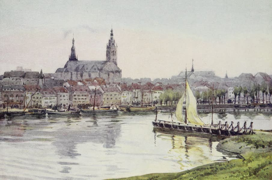 The Rhine - Nymwegen (from the River) (1908)