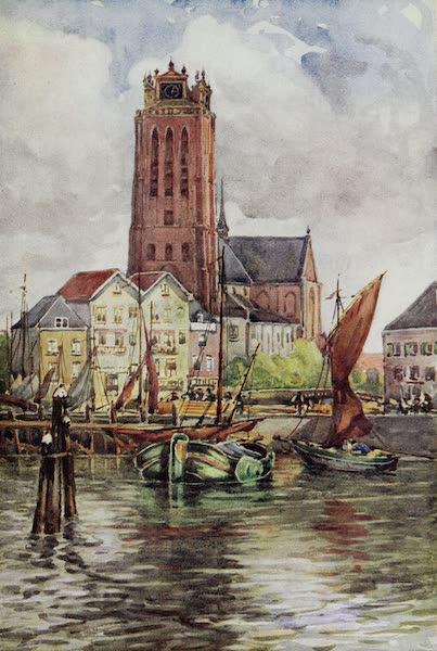 The Rhine - The Groote Kerk, Dordrecht (1908)
