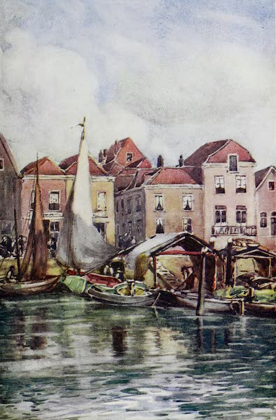 The Rhine - Dordrecht: The Fishmarket (1908)