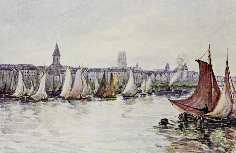 The Rhine - Rotterdam (from the River) (1908)