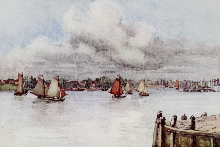 The Rhine - Boats on the Maas (1908)