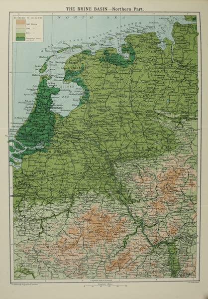 The Rhine - The Rhine Basin: Northern Part (1908)