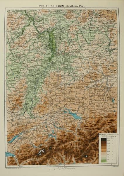 The Rhine - The Rhine Basin: Southern Part (1908)