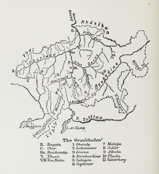 The Rhine - The Graubunden (1908)