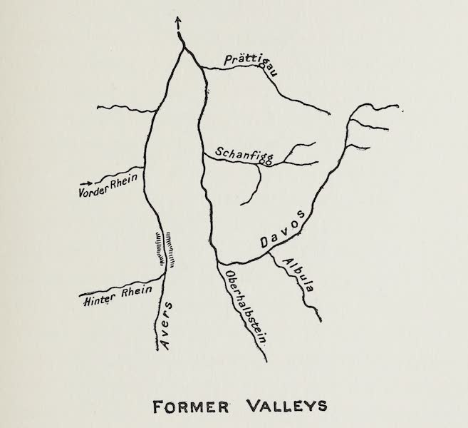 The Rhine - Former Valleys (1908)