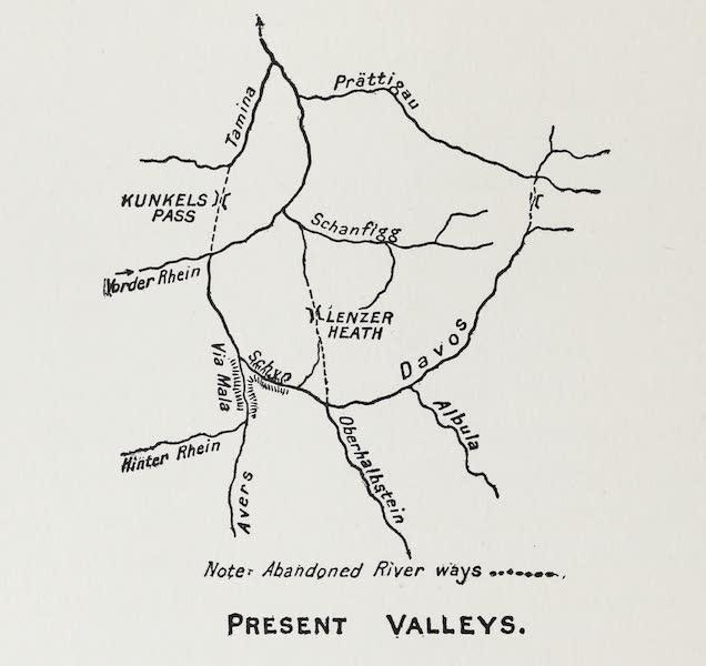 The Rhine - Present Valleys (1908)