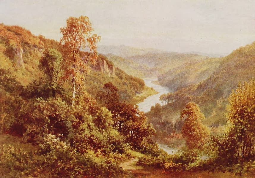 The Rivers and Streams of England Painted and Described - The Wye, Symond's Yat, Herefordshire (1909)