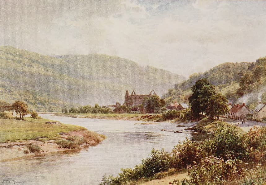 The Rivers and Streams of England Painted and Described - The Wye, Tintern, Monmouthshire (1909)