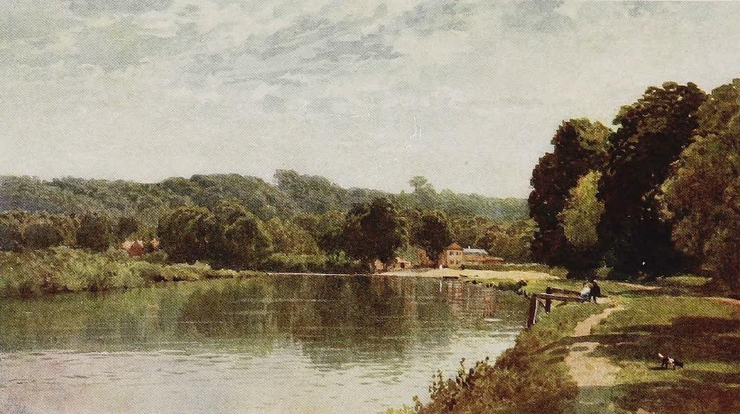 The Rivers and Streams of England Painted and Described - The Thames, the Bells of Ouseley, Old Windsor (1909)