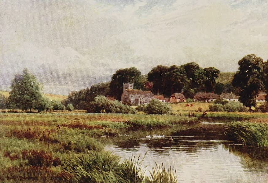The Rivers and Streams of England Painted and Described - Stapleford on the Wiley (1909)