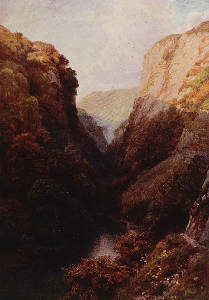 The Rivers and Streams of England Painted and Described - The Dove, Dovedale, Derbyshire (1909)