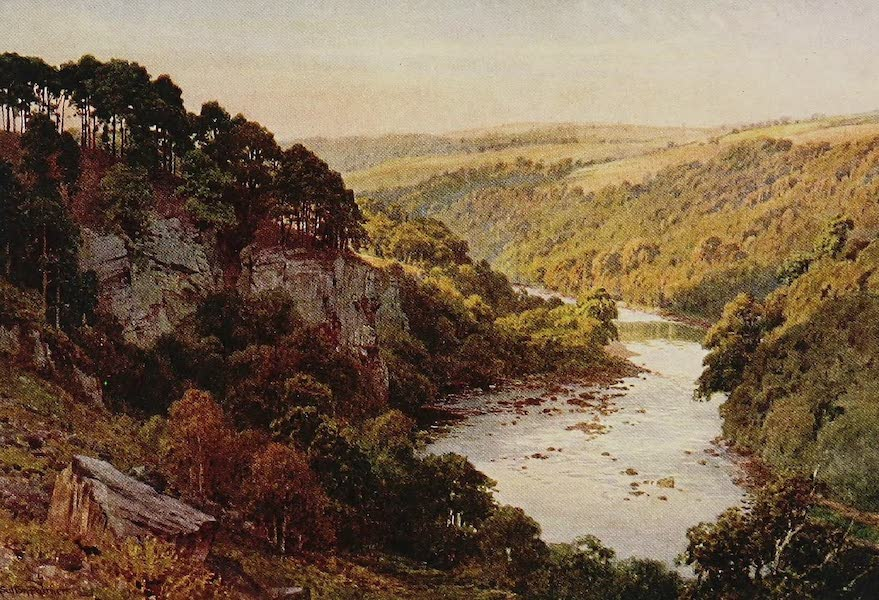 The Rivers and Streams of England Painted and Described - The Eden, Samson's Chamber, near Carlisle (1909)
