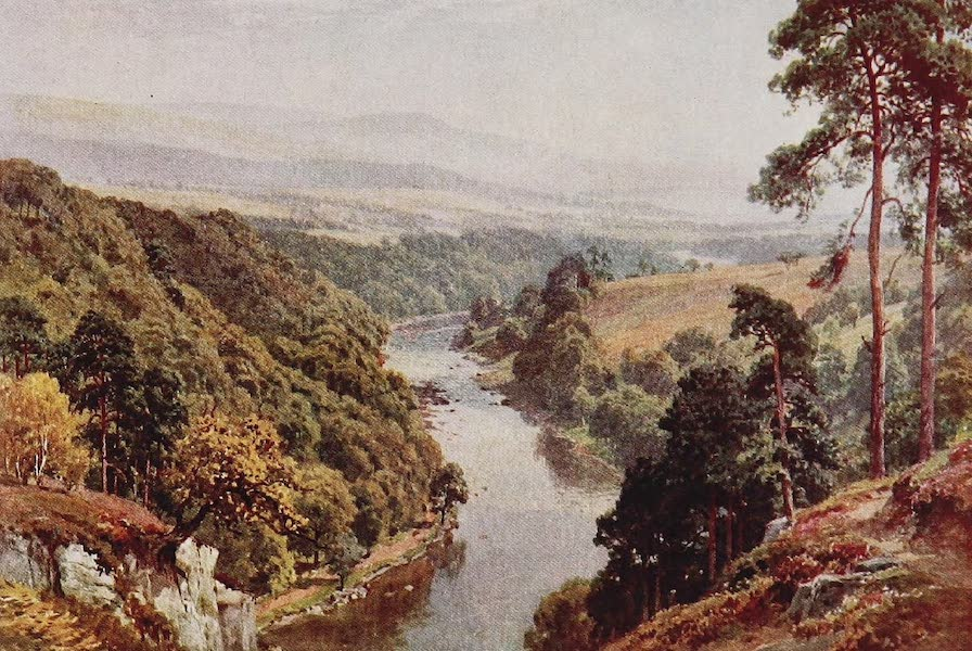 The Rivers and Streams of England Painted and Described - The Eden, near Lazonby, Cumberland{xii} (1909)