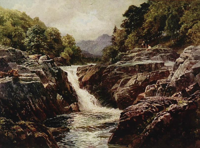 The Rivers and Streams of England Painted and Described - Skelwith Force, near Ambleside, Westmoreland (1909)