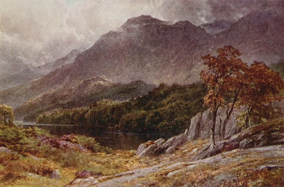 The Rivers and Streams of England Painted and Described - The Derwent, Borrowdale, Cumberland (1909)