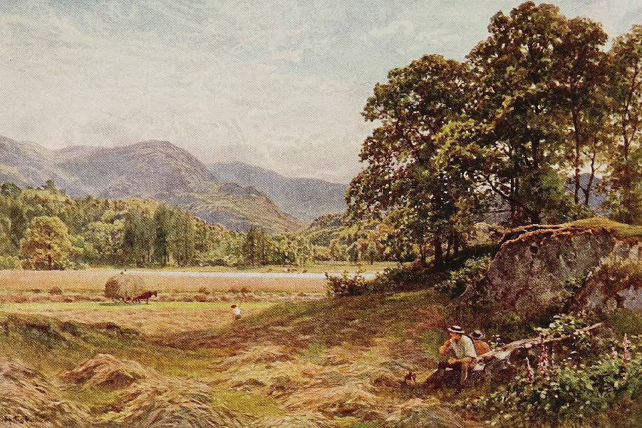The Rivers and Streams of England Painted and Described - The Brathay, Langdale, Westmoreland (1909)