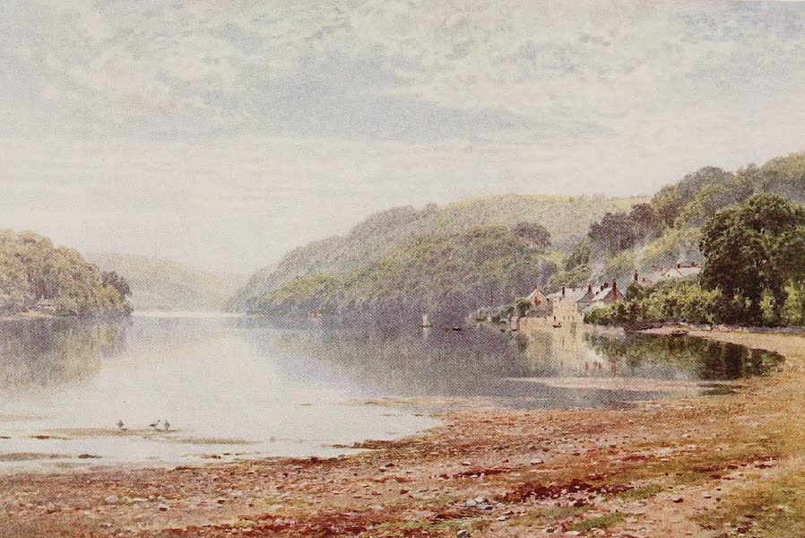 The Rivers and Streams of England Painted and Described - The Dart, Dittisham, Devon (1909)