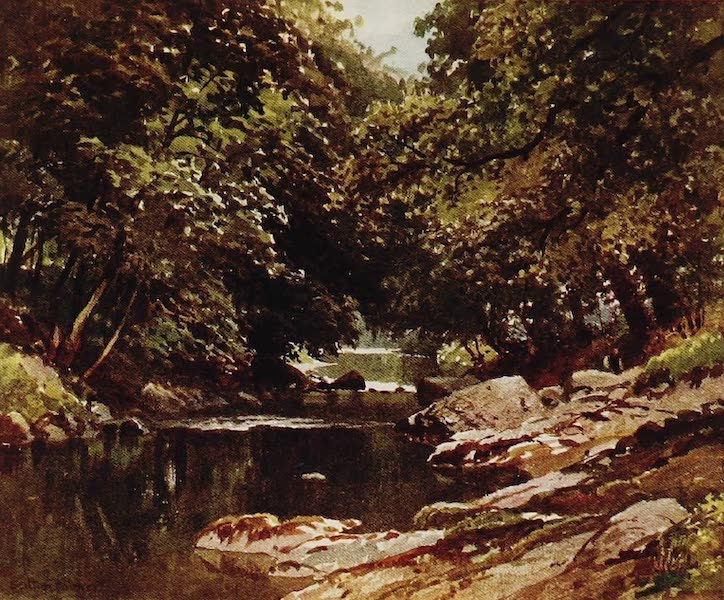 The Rivers and Streams of England Painted and Described - The Tavy, Tavistock, Devon (1909)