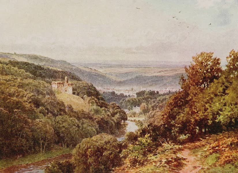 The Rivers and Streams of England Painted and Described - The Okement, Oakhampton, Devon (1909)