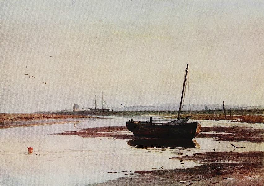 The Rivers and Streams of England Painted and Described - The Exe, Topsham, Devon (1909)