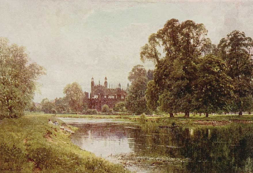 The Rivers and Streams of England Painted and Described - The Thames, Eton (1909)