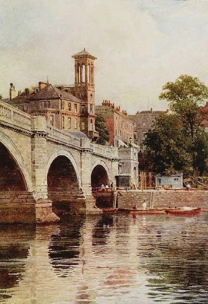 The Rivers and Streams of England Painted and Described - The Thames, Richmond (1909)