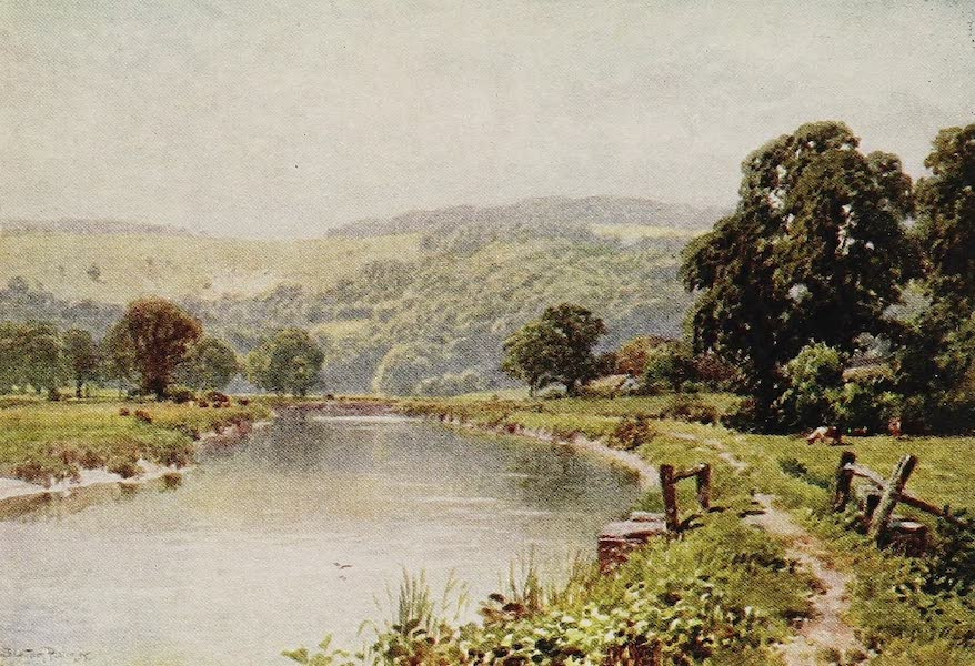 The Rivers and Streams of England Painted and Described - The Arun, Amberley, Sussex (1909)