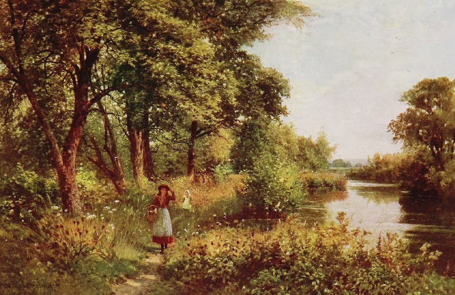 The Rivers and Streams of England Painted and Described - The Ouse, near Barcombe Mills, Sussex (1909)