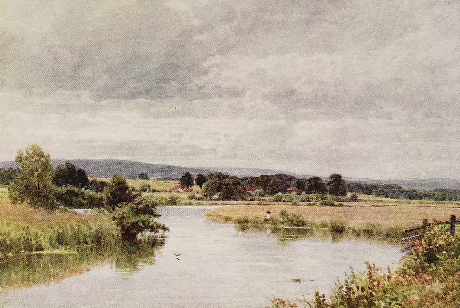 The Rivers and Streams of England Painted and Described - The Rother, Fittleworth, Sussex (1909)