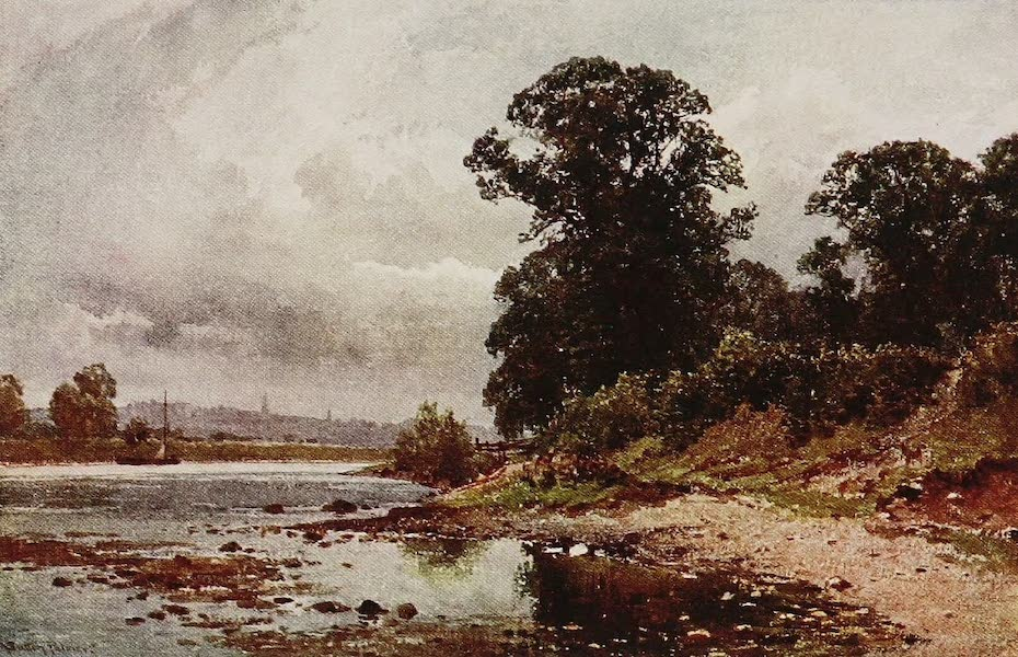 The Rivers and Streams of England Painted and Described - The Trent, Nottingham (1909)