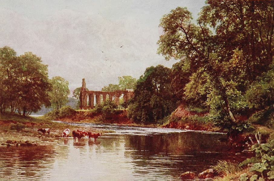 The Rivers and Streams of England Painted and Described - The Wharfe, Bolton Abbey, Yorkshire (1909)