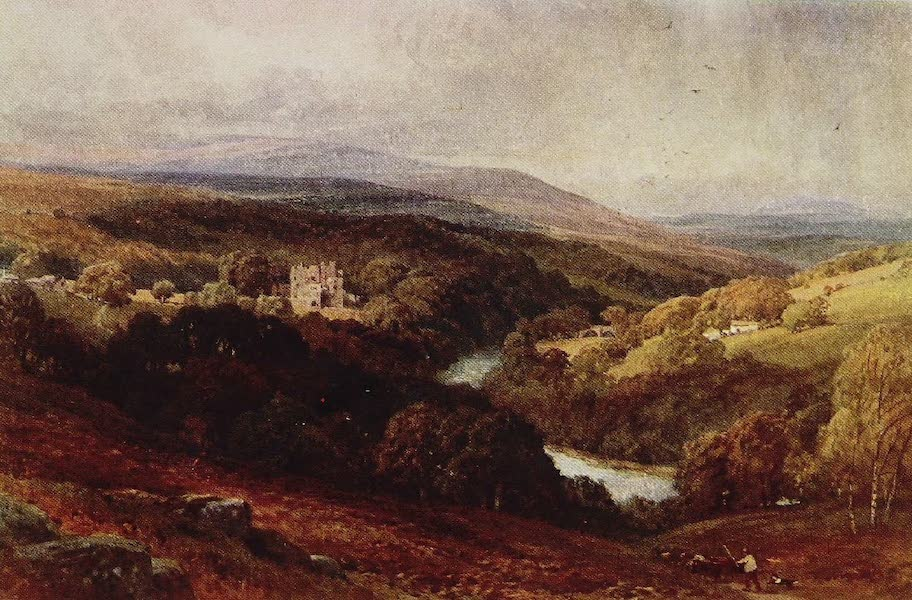 The Rivers and Streams of England Painted and Described - The Wharfe, Barden Tower, Yorkshire (1909)