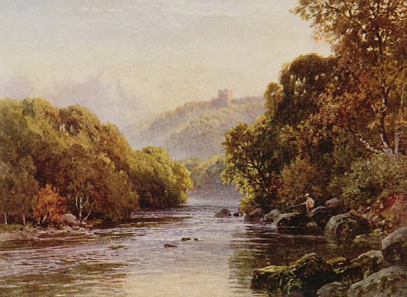 The Rivers and Streams of England Painted and Described - The Ure, near Ripon, Yorkshire (1909)