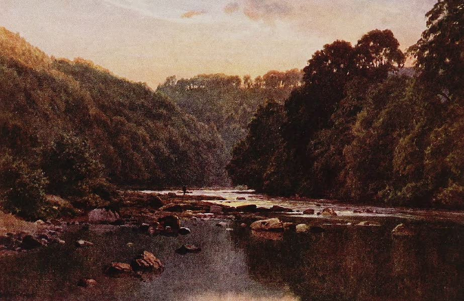 The Rivers and Streams of England Painted and Described - The Swale, Richmond, Yorkshire (1909)