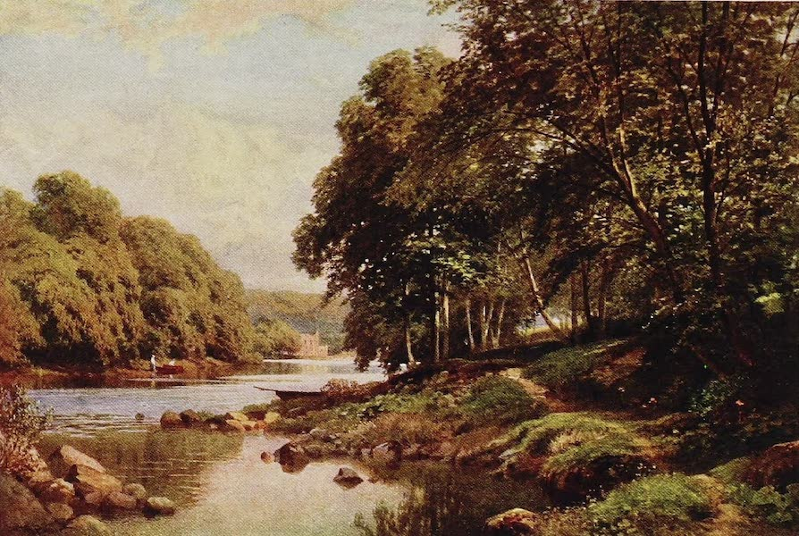 The Rivers and Streams of England Painted and Described - The Swale, Easby Abbey, Yorkshire (1909)