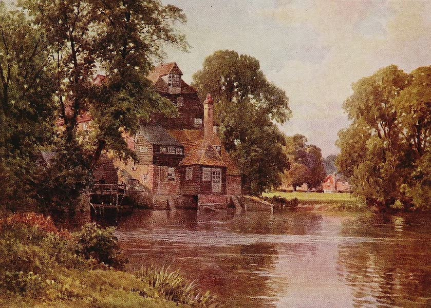 The Rivers and Streams of England Painted and Described - The Ouse, Huntingdonshire (1909)