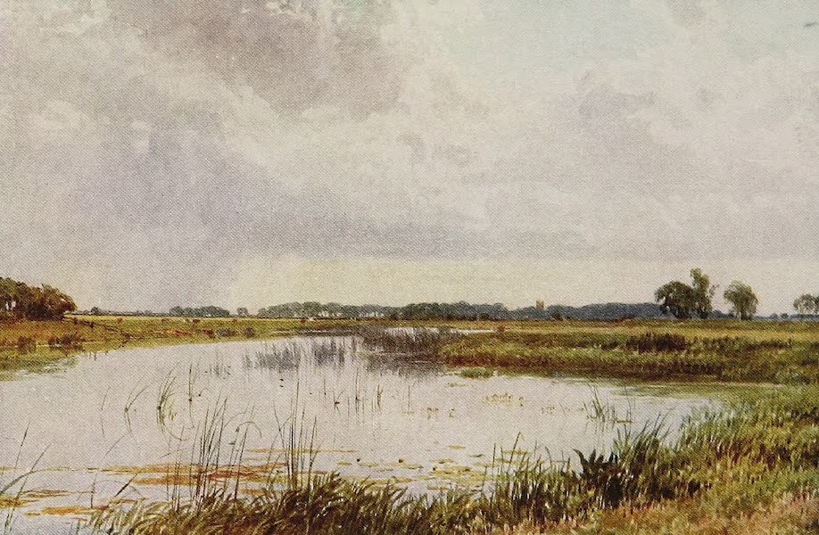 The Rivers and Streams of England Painted and Described - The Ouse, near Holywell, Huntingdonshire (1909)
