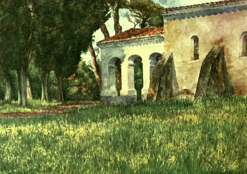 The Riviera Painted & Described - S. Cassien, near Cannes (1907)