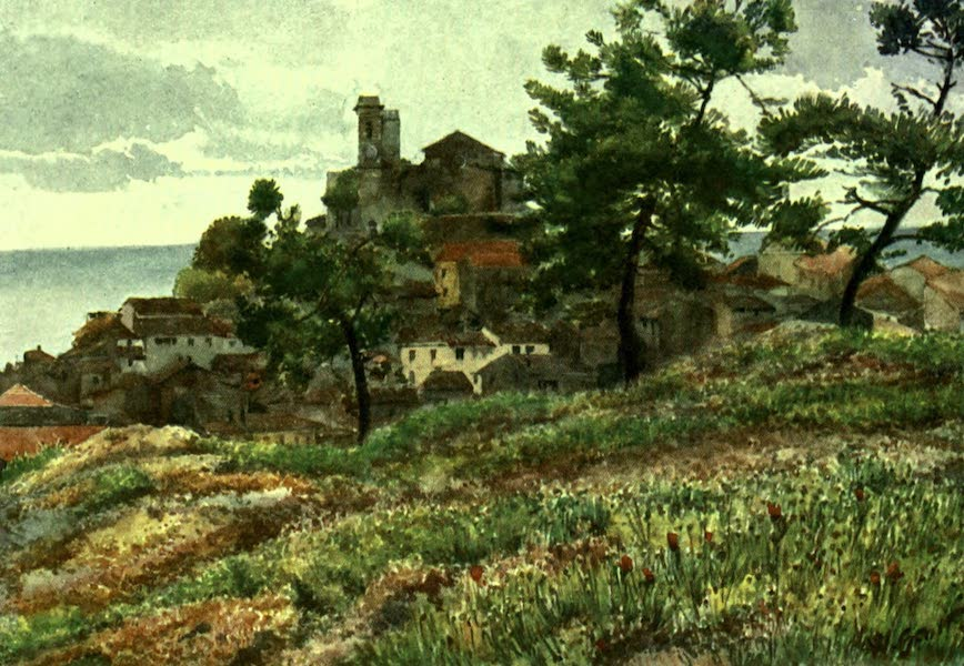 The Riviera Painted & Described - The Old Town, Cannes (1907)