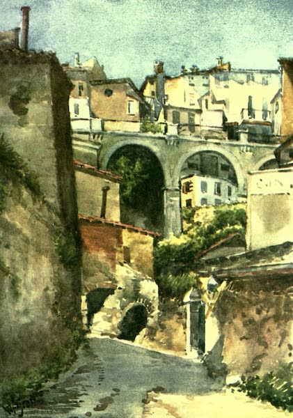 The Riviera Painted & Described - Street in Grasse (1907)