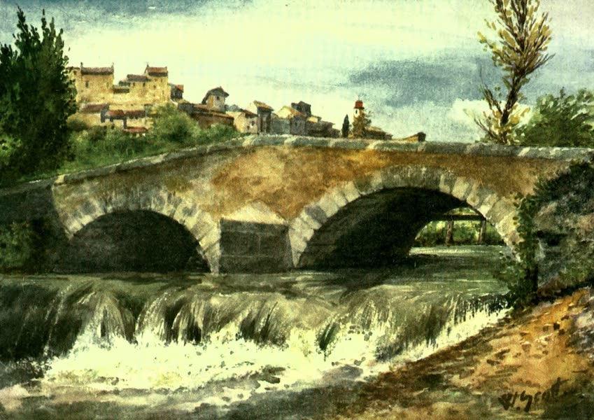 The Riviera Painted & Described - Old Bridge, Cagnes (1907)