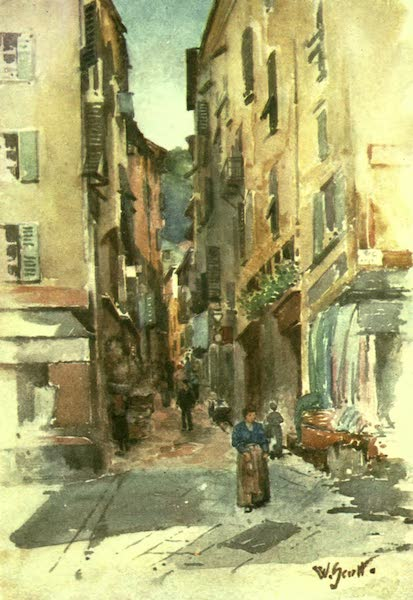Street in the Old Town, Nice